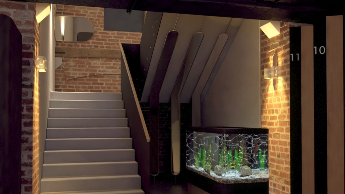 Stables staircase